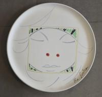 SH Enchères, Sophie Himbaut commissaire-priseur Belle vente de tableaux, meubles et objets d'art le vendredi 19 Mars jean-cocteau-astrologie-1958-plat-atelier-madeline-jolly