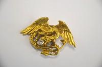 SH Enchères, Sophie Himbaut commissaire-priseur Belle vente de tableaux, mobiliers et objets d'art du 22 novembre à 14h broche-en-or-jaune-a-decor-d-une-chimere-diamant-de-taille-ancienne-vers-1880-1920