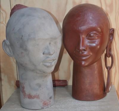 SH Enchères, Sophie Himbaut commissaire-priseur Vente de fonds de maison du mardi 24 septembre à 14h barbara-soia-sculptures