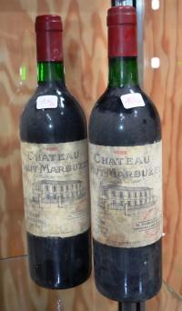 SH Enchères, Sophie Himbaut commissaire-priseur Vente de fonds de maison le 17 juin 2020 dont belle cave de vin et alcools chateau-haut-marbuzet-1989-vin-rouge