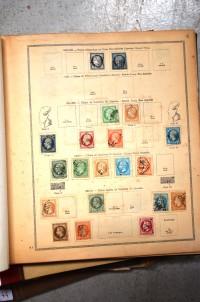 SH Enchères, Sophie Himbaut commissaire-priseur Vente de fonds de maison dont belle collection de militaria le jeudi 9 juillet à 14h album-de-timbres-1842-1850