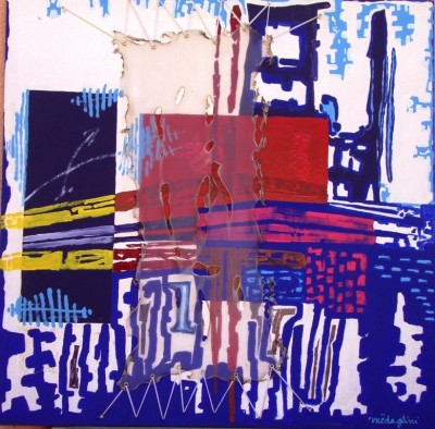 SH Enchères, Sophie Himbaut commissaire-priseur Vente fonds d'atelier de Guido Filiberti, Miguel Angel LOPEZ MEDINA et Medaglini medaglini-peinture