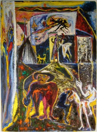 SH Enchères, Sophie Himbaut commissaire-priseur Vente fonds d'atelier de Guido Filiberti, Miguel Angel LOPEZ MEDINA et Medaglini miguel-angel-lopez-medina-ne-au-mexique-en-1951
