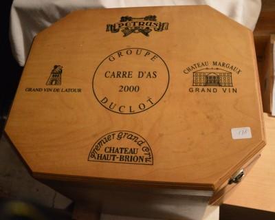 SH Enchères, Sophie Himbaut commissaire-priseur Vente online de vins et alcools provenant d'une importante cave particulière carre-d-as-duclot-2000-8-magnums